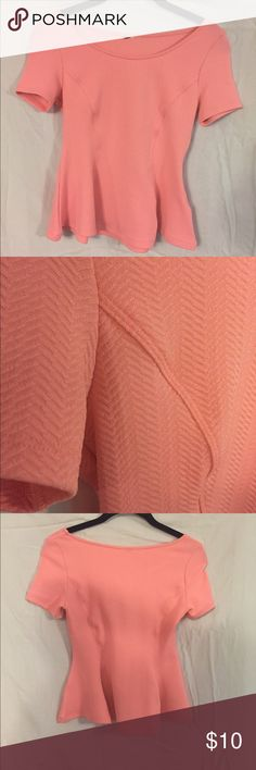 Forever 21 neon pink shirt! Forever 21 top..worn once Forever 21 Tops Blouses