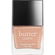butter LONDON Nail Lacquer, Keen 0.4 oz (11.34 g) (€13) ❤ liked on Polyvore featuring beauty products, nail care, nail polish, beauty, nails, butter london, peach nail polish, butter london nail lacquer and nail color