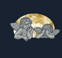 Dr Who weeping angels homage shirt on teefury.com