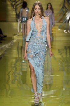 Collezione Versace primavera estate 2014 FOTO