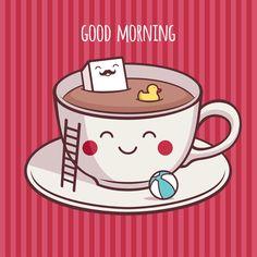 Good Morning by Katerina moryachok, via Behance