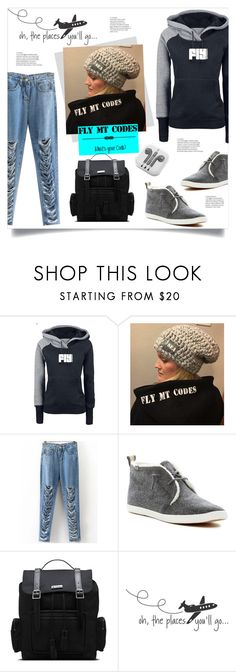 """FlyMTcodes"" by mahafromkailash ❤ liked on Polyvore featuring Keds, Dr. Martens, WALL and PhunkeeTree"