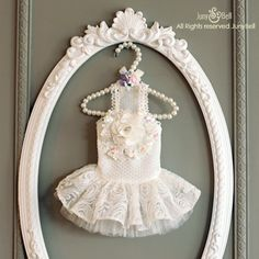 Bride of May Designer Handmade white dress for Pets / by JunyBell