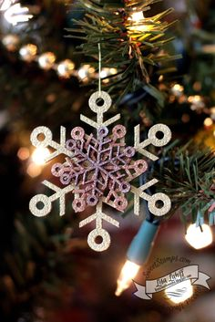 SweetStamps BLOG 12/2014, Anything but a card; ornament using Globecraft and Piccolo accent ;  DT Lisa