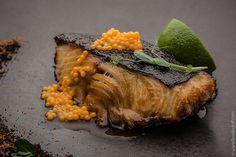 Black Cod with Mango Caviar | Food'n'chef