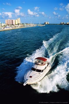 Miami Beach, Florida fun times out on the water!... Check out our site for condo rentals RIGHT ON Ocean Drive in South Beach at http://www.floridasouthbeachrentals.com/!