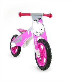 Bicicleta de madera sin pedales Gato - www.e-funkybaby.es #efunkybabyes #bicicleta