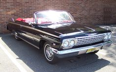 1959 Chevy Impala Convertible - will love to see how a retro version will look like