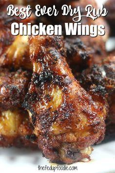 Chicken Wing Marinade, Dry Rub Chicken Wings, Chicken Wing Sauces, Dry Rub Wings, Air Fryer Chicken Wings, Chicken Wings Grill Recipe, Chicken Breasts, Smoker Chicken Wings, Chicken Wing Seasoning
