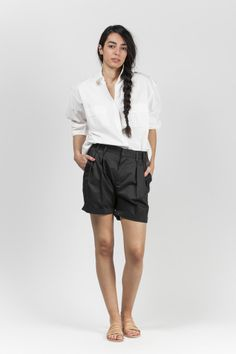 Pleated Shorts Pleated Shorts, Short Dresses, Feminine, Casual, Fashion, Short Frocks, Lady Like, Moda, Short Gowns