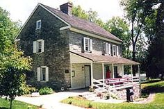[photo, Jonathan Hager House, City Park, Hagerstown, Maryland]   museum info