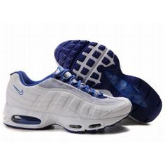 2e9916634cd4 Nike Air Max 95 Blue White Mens Shoes Air Max 95 Blue