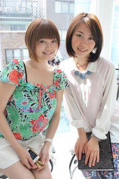 me(left)&Yumi.