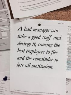 Leaderly Quote Having A Bad Boss Isnt Your Fault Leaderly Quotes