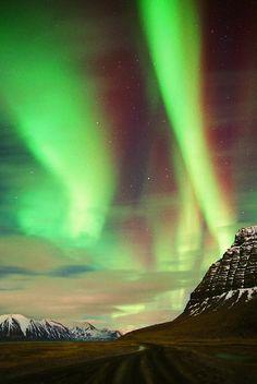 Aurora Borealis - Hvesta, Iceland