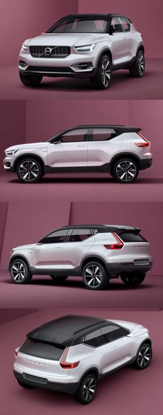 #Volvo XC40 to Unveil at 2017 Shanghai Auto Show