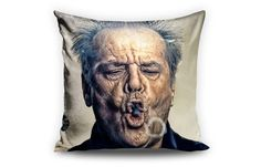 """ Jack Nicholson "" Cushion By Cuchions Centra. Now available at TheGiftery.com! For more information call 01221103868 (Sunday- Thursday 9:30 am to 5:30 pm)"