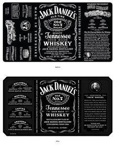 Jack Daniel's Tennessee Whiskey - The Dieline - The #1 Package Design Website -