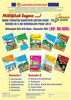 Buku PAUD - BUKU TK-BUKU PLS-BUKU KF-Alat Peraga-DAK BKKBN 2015: Buku TK dan PAUD Penerbit Asaka Prima