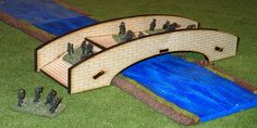 Wargame Laser Cut Terrain :: Stone Bridge - Fun Elements    Could be useful for Flames of War.