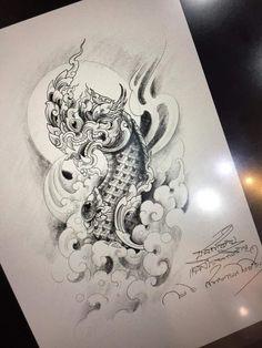 Cambodian Tattoo, Khmer Tattoo, Cambodian Art, C Tattoo, Sak Yant Tattoo, Thai Tattoo, Leg Tattoo Men, Chest Tattoo, Leg Tattoos