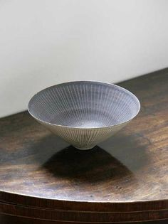 Lucie Rie. So nice to see one away from the gallery context.