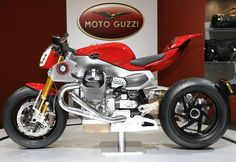 Moto Guzzi but perhaps a cafe racer instead of this concept...