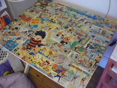 Decoupage comics :)