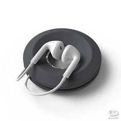 インイヤーヘッドフォンを守ってくれるケーブルオーガナイザーの決定版。iPhone付属のものから一般的なインイヤーに対応し、ケーブルの着脱も簡単