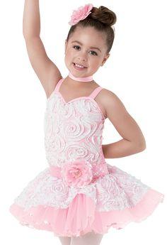 Weissman™ | Ruffle Mesh Bodice Ballet Dress
