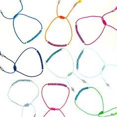"9 fröhlich, feine Armbänder ""Lucky Thing"" jetzt in unserem Online Shop!! www.ajola.eu/shop #AJOLA®"