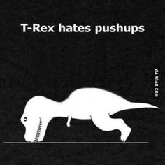 T-rex life...