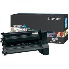 Lexmark C780H2CG Cyan Toner Cartridge 10k page C780 C782 New Genuine