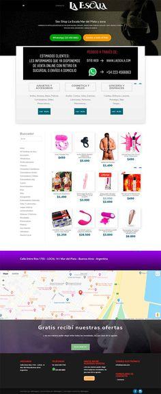 Sitio realizado en Wodpress Shopping, Mar Del Plata, Web Design
