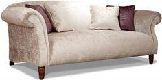 Buoyant James 3 Seater Fabric Sofa