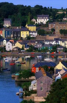 Kinsale, Cork. Ireland. Used to come here a lot when I was based in Ireland. A very peaceful place.