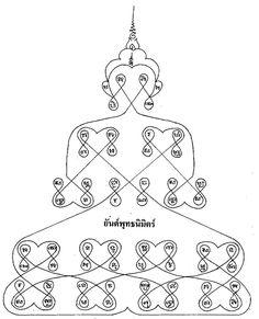 Yant Putta Nimit - Buddha Apparition Yantra