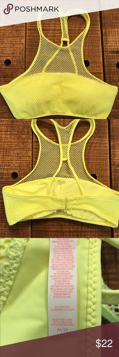 Victoria's Secret Surf mesh bikini top Victoria's Secret mesh surf bikini top. Gorgeous. Size Medium. NWO. Never worn. Fast shipping. Victoria's Secret Swim Bikinis