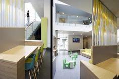 Graven designed the interior of The West Centre, Children's Community Health and Care in Drumchapel, Glasgow - graphic design, interior design and signage