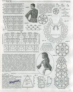 Voici des modèles de boléros au crochet avec leurs digrammes gratuits ou leurs grilles gratuites.. Le premier modèle de boléro au crochet Voici les diagrammes gratuits de ce boléro au crochet .. Un autre modèle de boléro au crochet en granny Voici les...