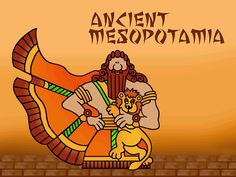 Ancient Mesopotamia (Sumer, Babylon, Assyria) Free Templates in PowerPoint format for Kids and Teachers