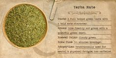 Organic Yerba Mate from Mountain Rose Herbs