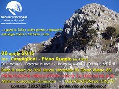 Promemoria escursione del 6 aprile 2015 www.sentierimoranesi.com