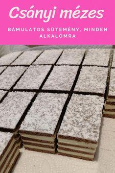 Healthy Snacks, Cake Recipes, Food And Drink, Sweets, Cookies, Breakfast, Bakken, Hungarian Recipes, Health Snacks