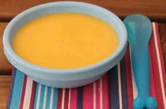Papilla de zanahoria, calabacín y patata