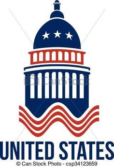 Capitol building logo clip art. America Center of Politics for ...