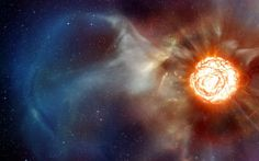 First Supernova Shock Wave Image Snapped by Planet-Hunting Telescope Death Of A Star, Shock Wave, Ascended Masters, Precious Metals, Documentaries, Planets, Flow, Spirituality, Universe