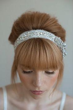 pretty jeweled headband