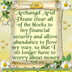 Attract abundance with the help of the Angels HERE ➡ http://www.myangelcardreadings.com/abundance