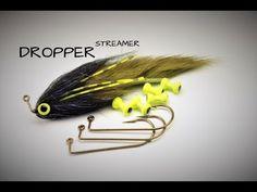 fly tying a Dropper Streamer - YouTube